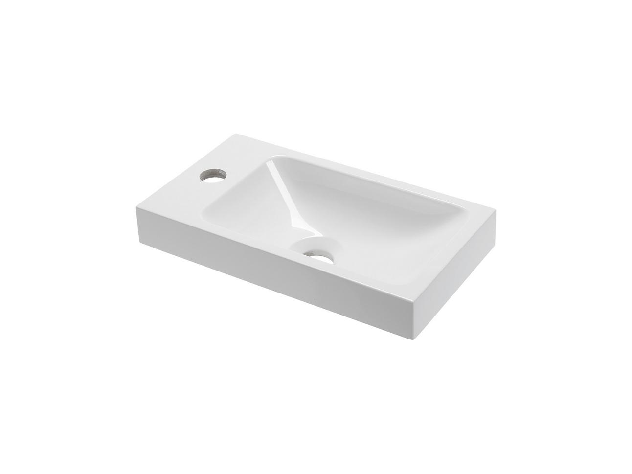 pico 40 mineralguss waschtisch set mit blende t r. Black Bedroom Furniture Sets. Home Design Ideas