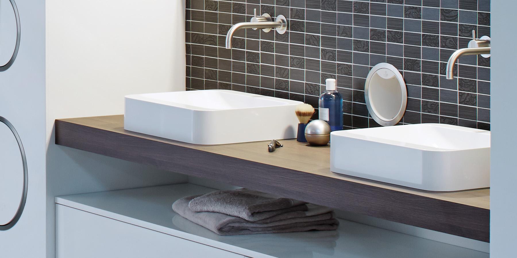 Platz sparen mit Badunterschränken