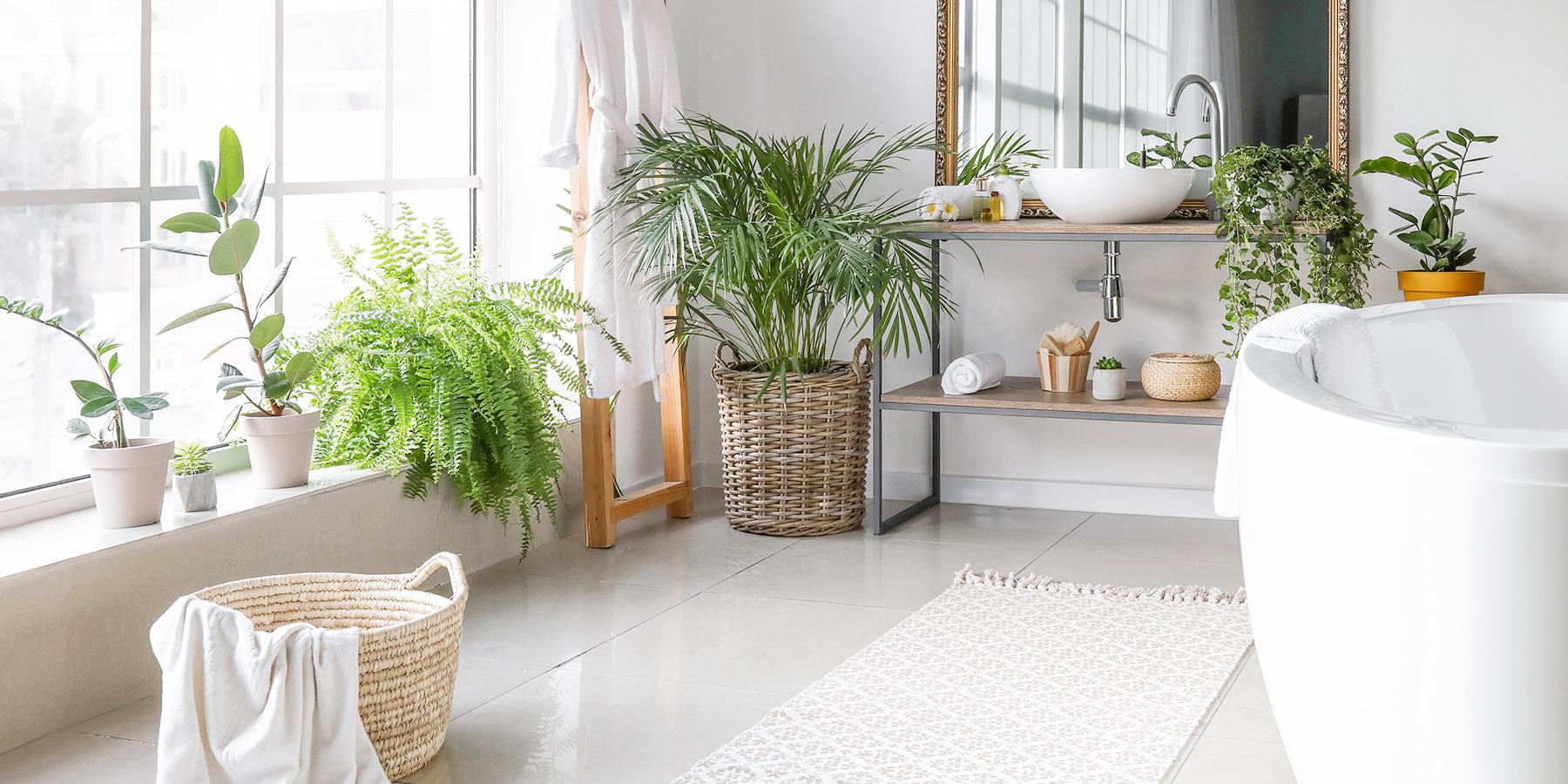 Badezimmer im Lagom - Stil