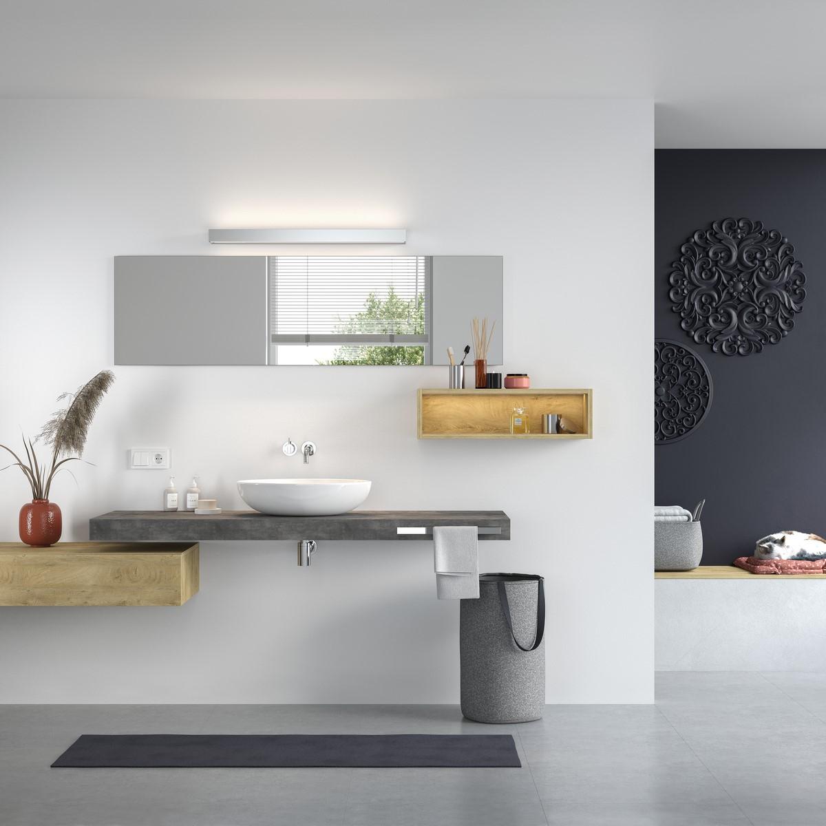 waschtischkonsole 8 cm in betondekor nach ma. Black Bedroom Furniture Sets. Home Design Ideas