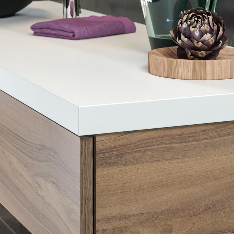 waschtischplatte 2 3 4 cm in farbdekor nach ma. Black Bedroom Furniture Sets. Home Design Ideas