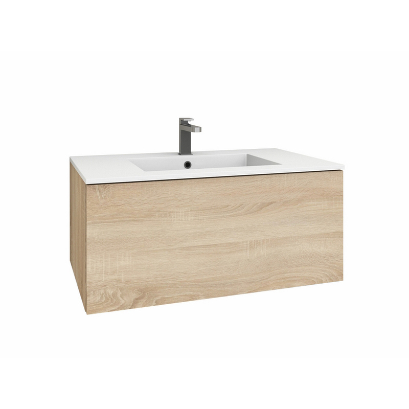 levanto 90 mineralguss waschtisch set mit auszug. Black Bedroom Furniture Sets. Home Design Ideas