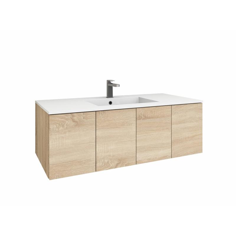 levanto 120 mineralguss waschtisch set mit 4 t ren. Black Bedroom Furniture Sets. Home Design Ideas