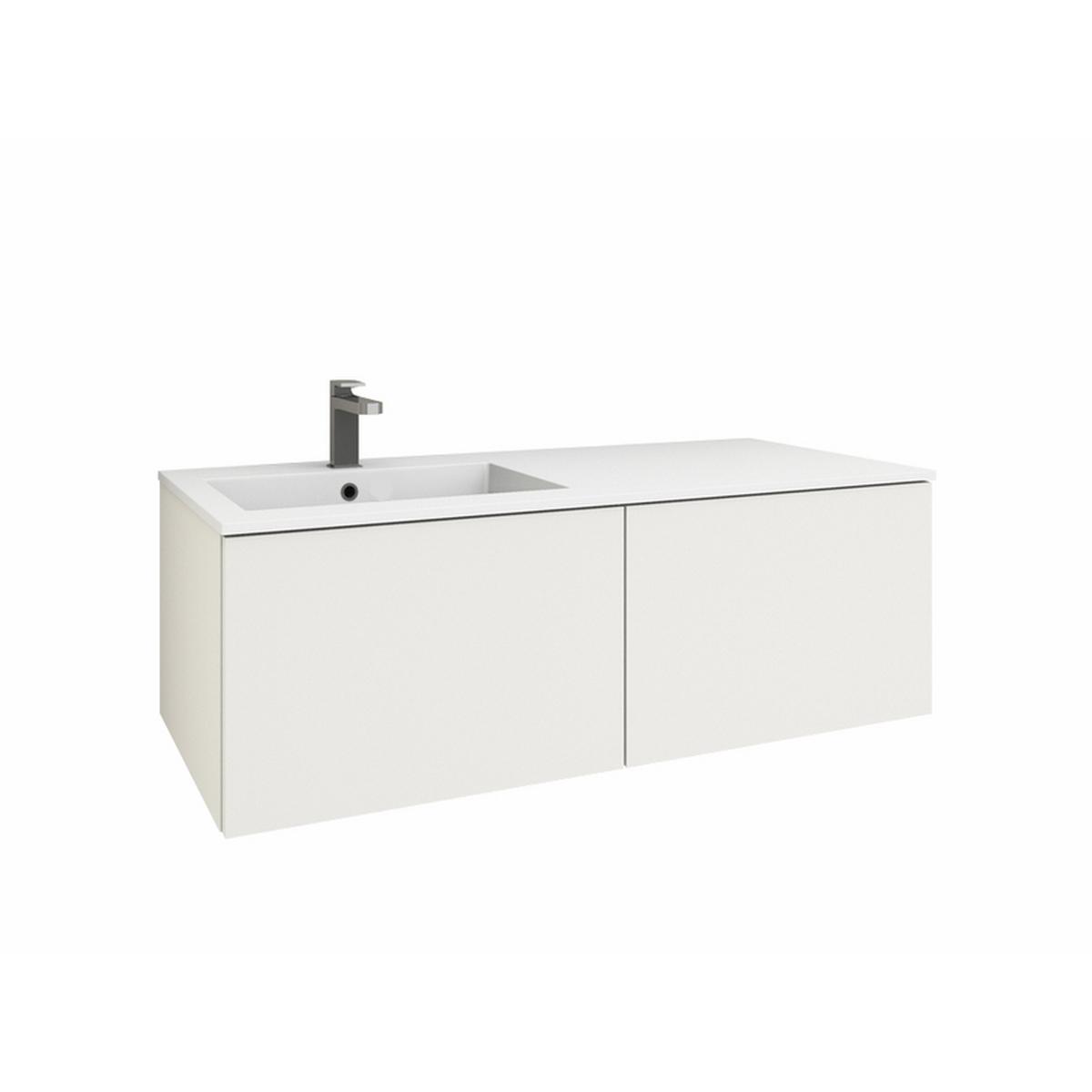 levanto 120l mineralguss waschtischset mit 2 ausz gen. Black Bedroom Furniture Sets. Home Design Ideas