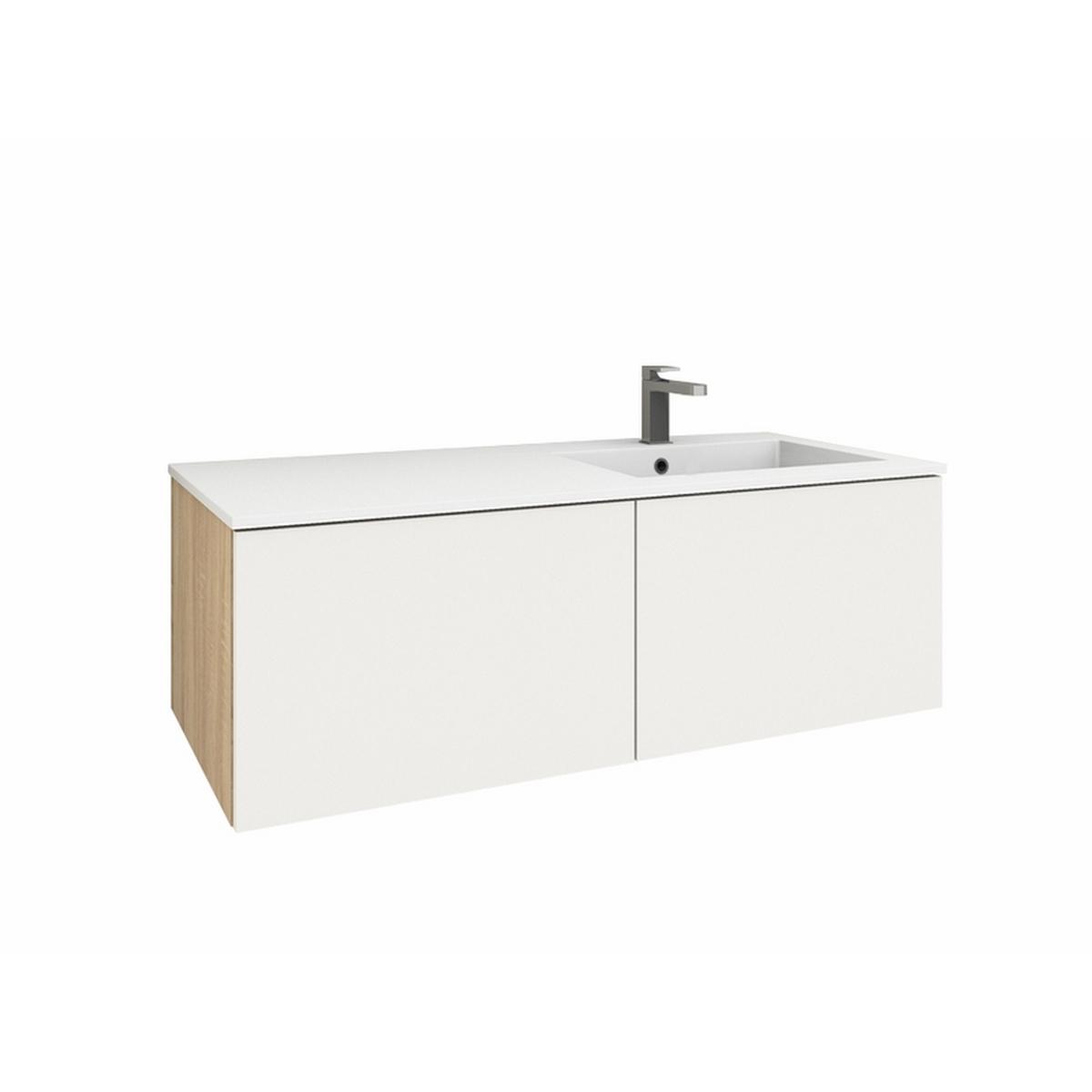 levanto 120r mineralguss waschtischset mit 2 ausz gen. Black Bedroom Furniture Sets. Home Design Ideas