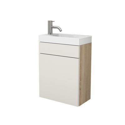 Waschtisch-Sets: Gäste-WC Waschbecken mit Unterschrank