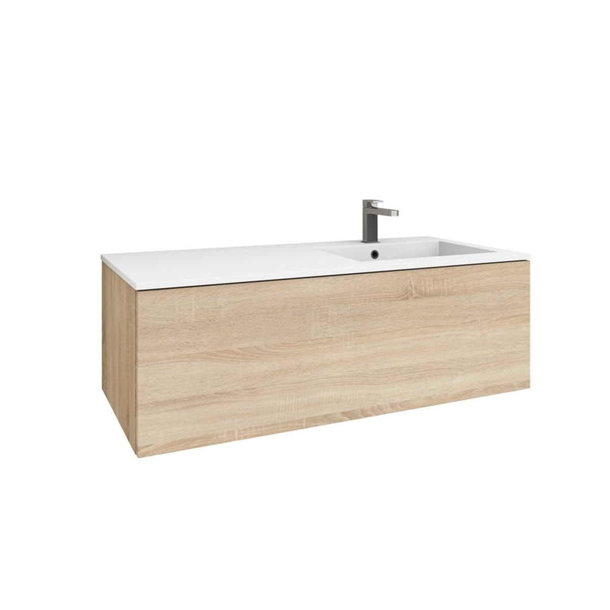 levanto 120r mineralguss waschtisch set mit auszug. Black Bedroom Furniture Sets. Home Design Ideas