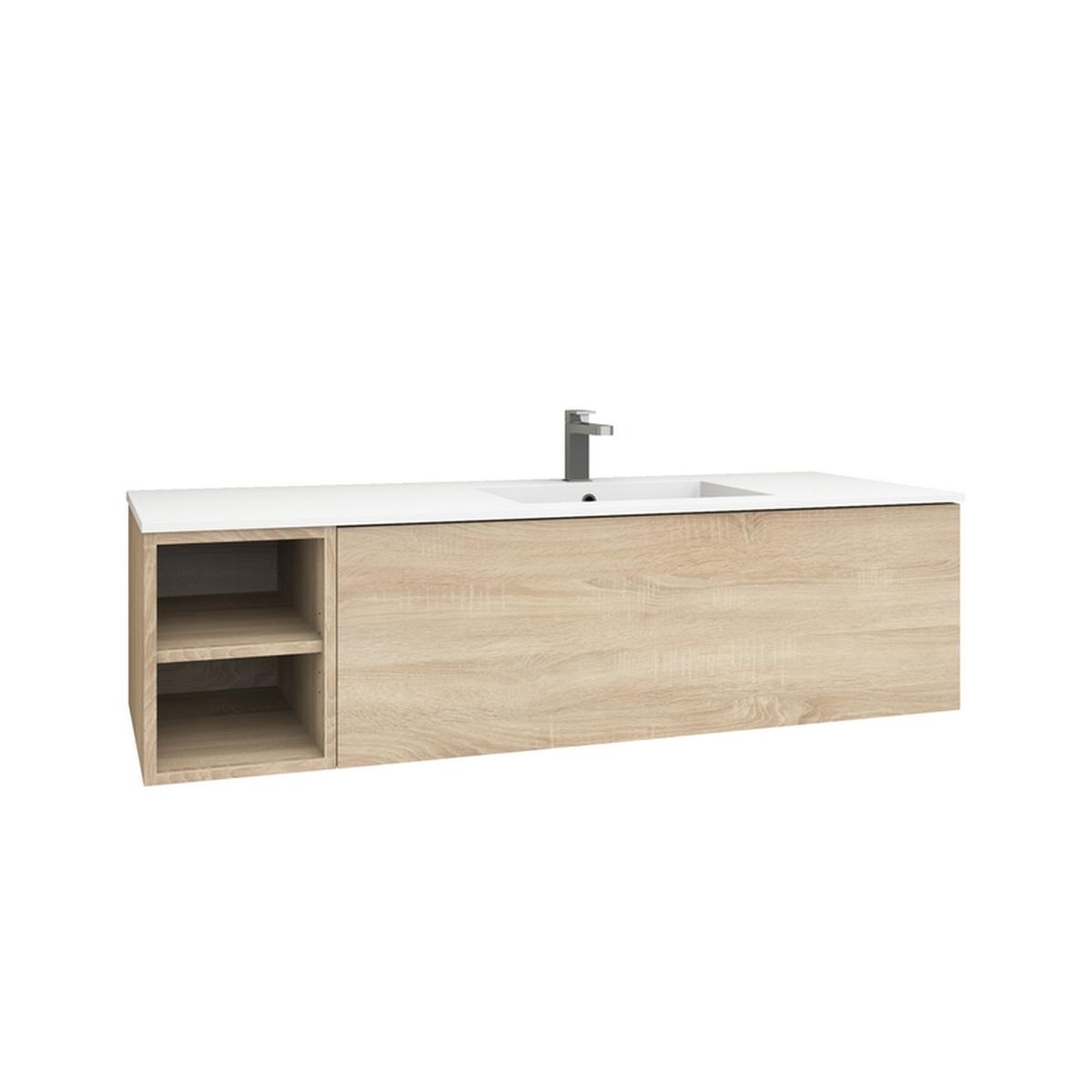 levanto 150r waschtisch set nach ma mit regal auszug. Black Bedroom Furniture Sets. Home Design Ideas