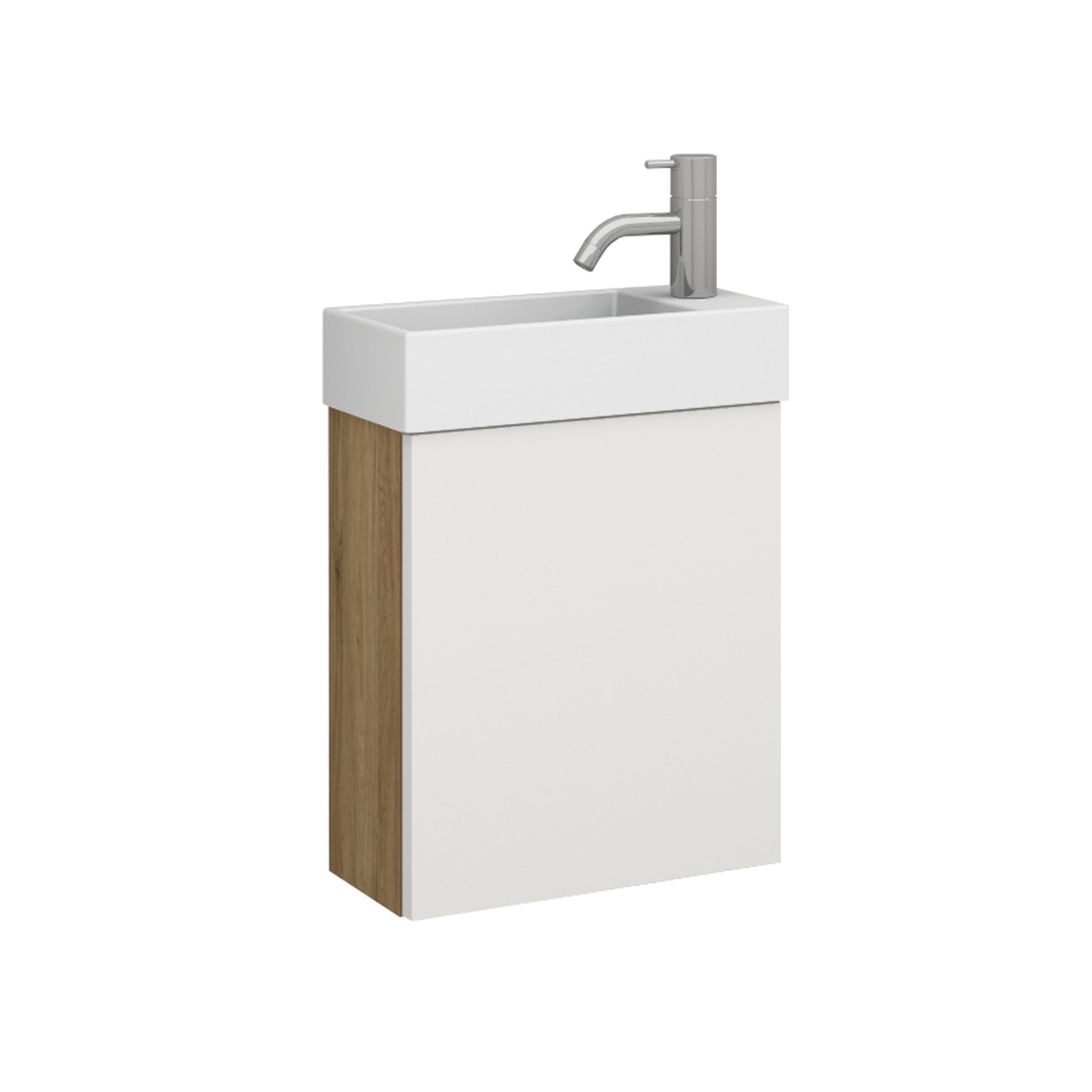 mico 35l keramik waschtisch set mit t r. Black Bedroom Furniture Sets. Home Design Ideas