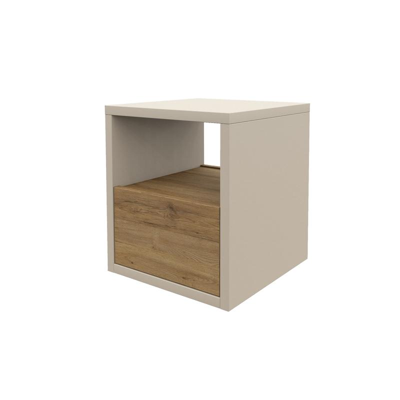 hocker mit schublade nach ma soma. Black Bedroom Furniture Sets. Home Design Ideas