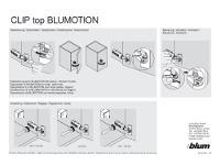 Vorschau Montageanleitung der Scharniere mit und ohne Softclose