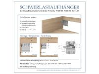 Vorschau Montageanleitung der Schwerlastaufhänger für Unterschränke und Waschtischunterschränke
