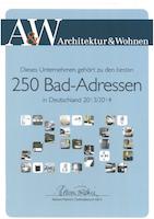 AW Special 250 Top-Adressen Badstudios 2014