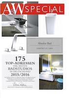 AW Special 175 Top-Adressen Badstudios 2015